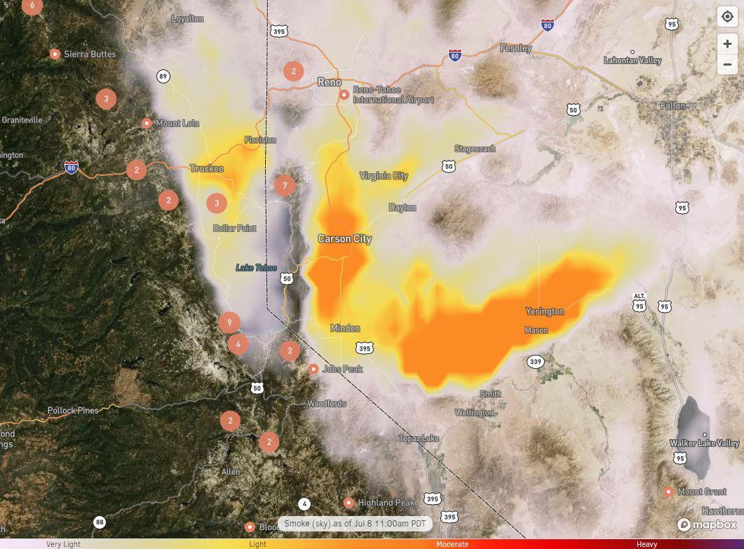 smoke maps
