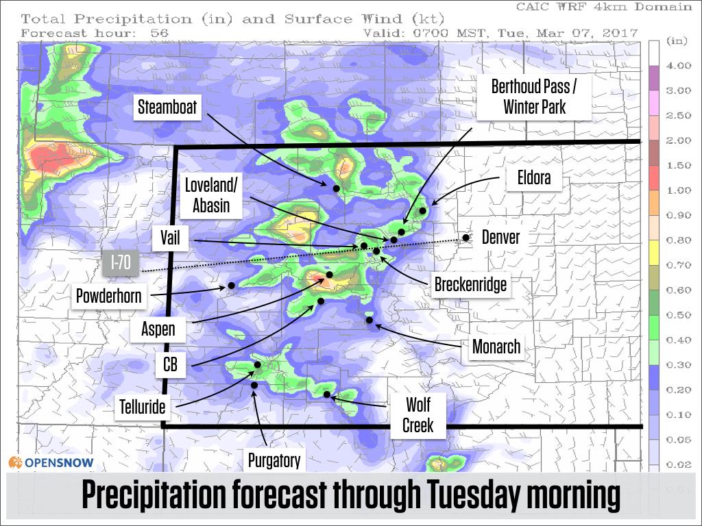 Powder Monday | Colorado Daily Snow | Snow Forecast & Ski