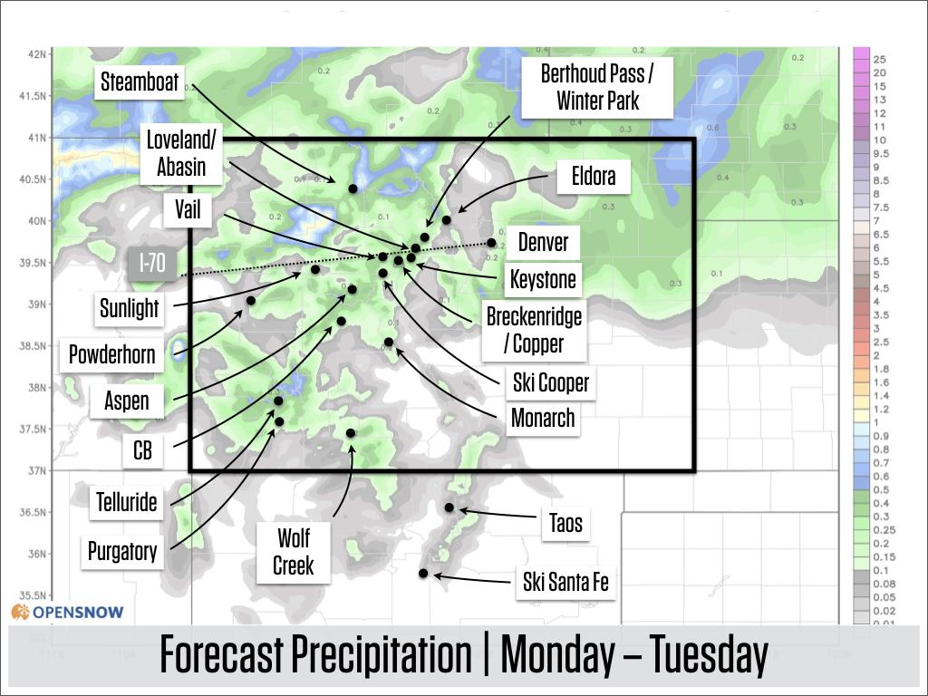 Colorado Daily Snow | Snow Forecast & Ski Report | OpenSnow