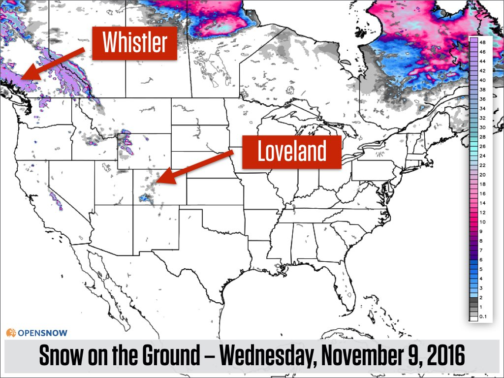 Next week will be snowier than this week | US and Canada Daily Snow ...