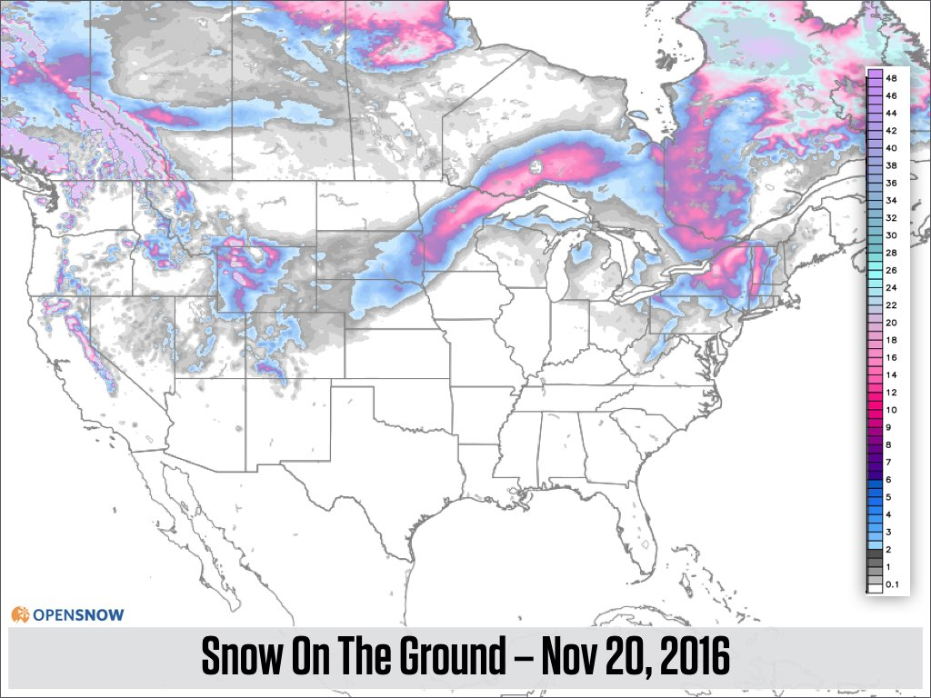 Cold And Snowy From Coasttocoast We Ar US And Canada - Map of western us and canada
