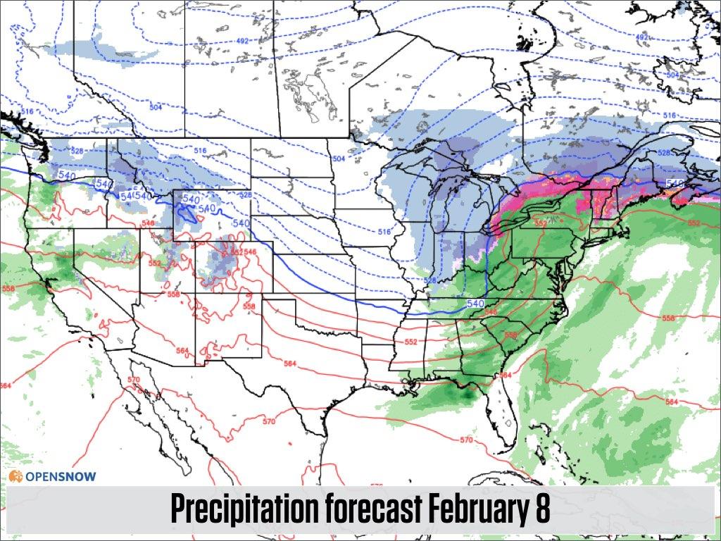 Coasttocoast powder US and Canada Daily Snow Report Snow