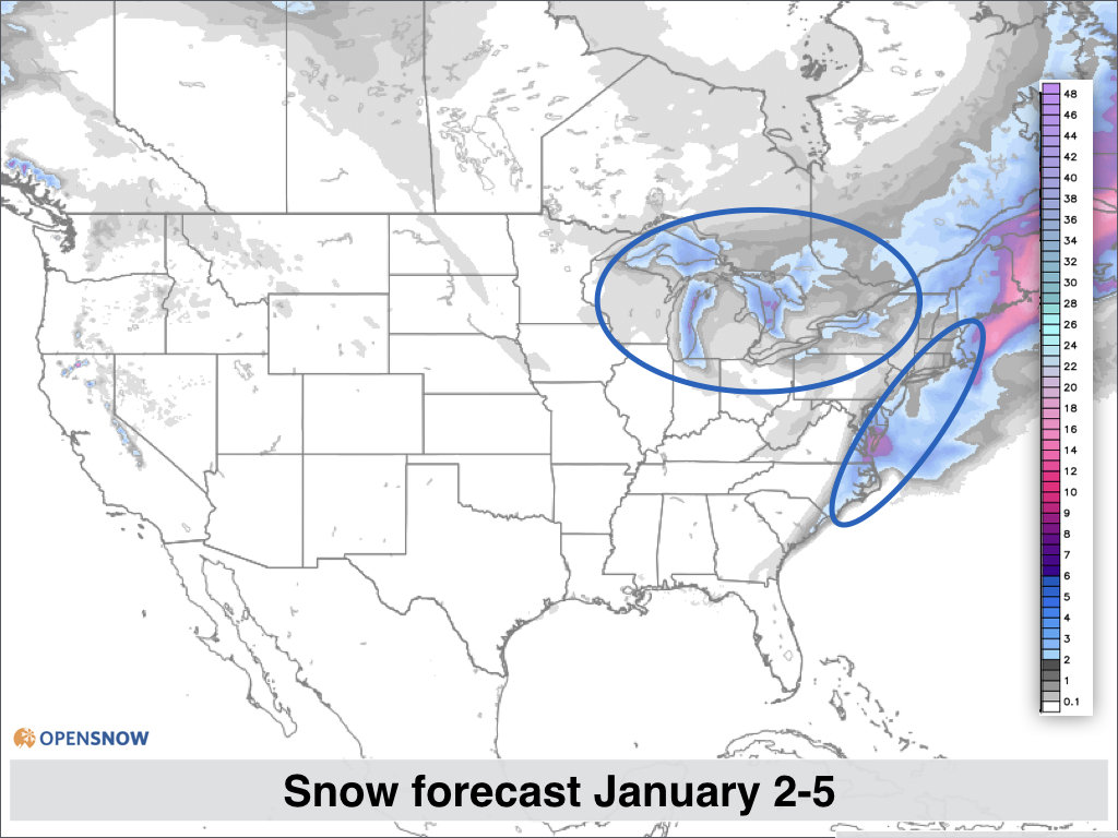 Dry this week snow returns this weekend US and Canada Daily