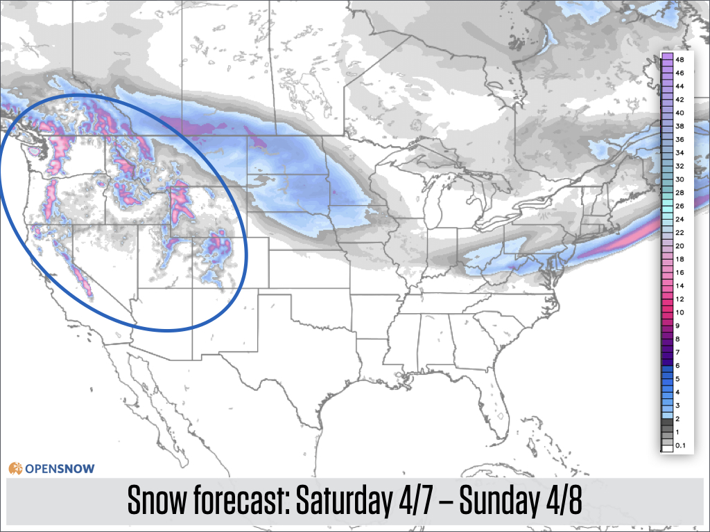 US and Canada Daily Snow Report Snow Forecast OpenSnow