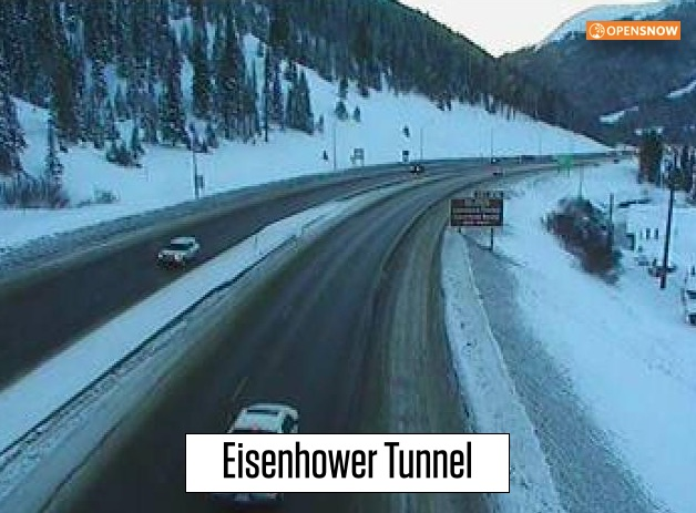 Webcam eisenhower tunnel joke? You