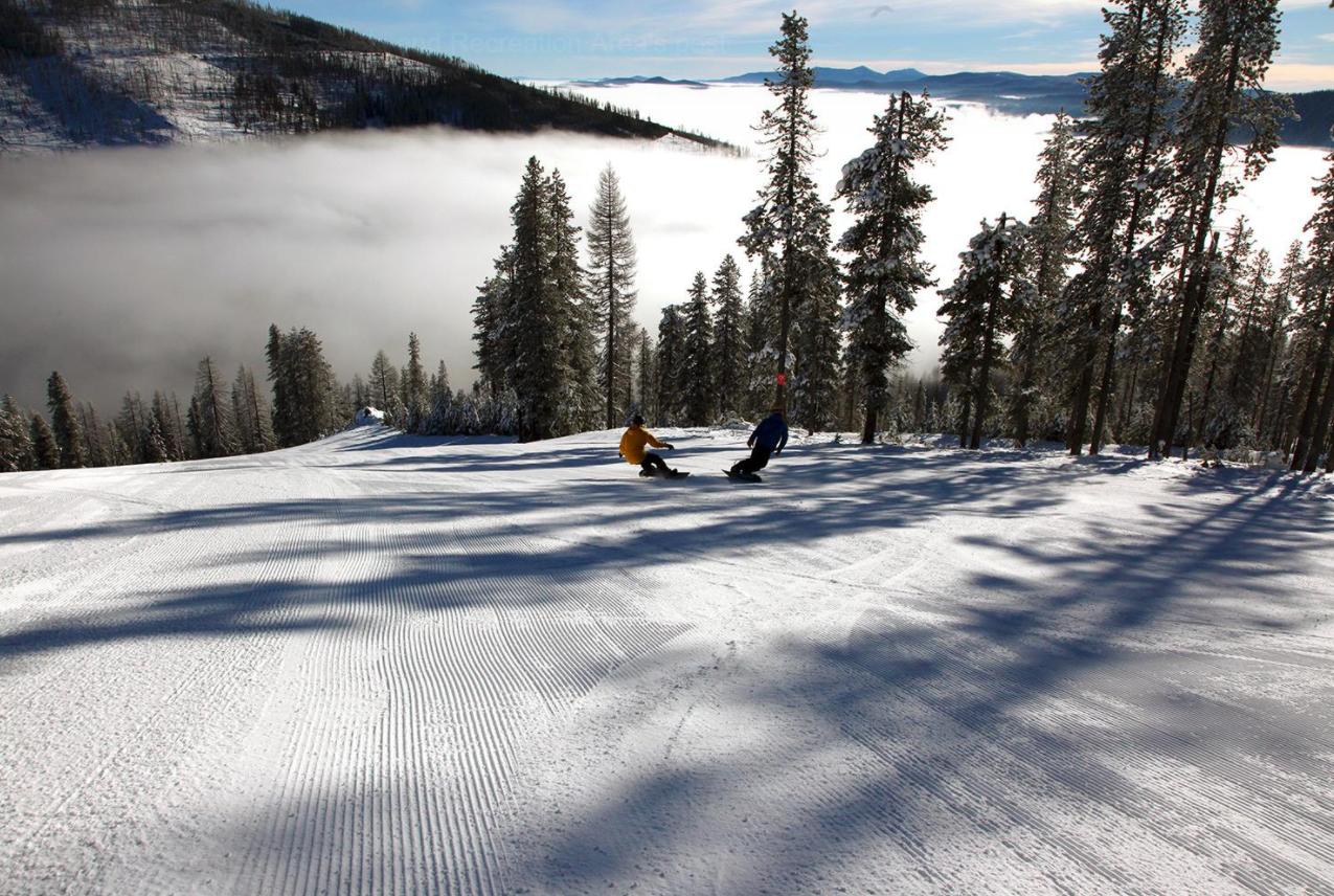 high, dry, blue sky | idaho daily snow | snow forecast & ski report