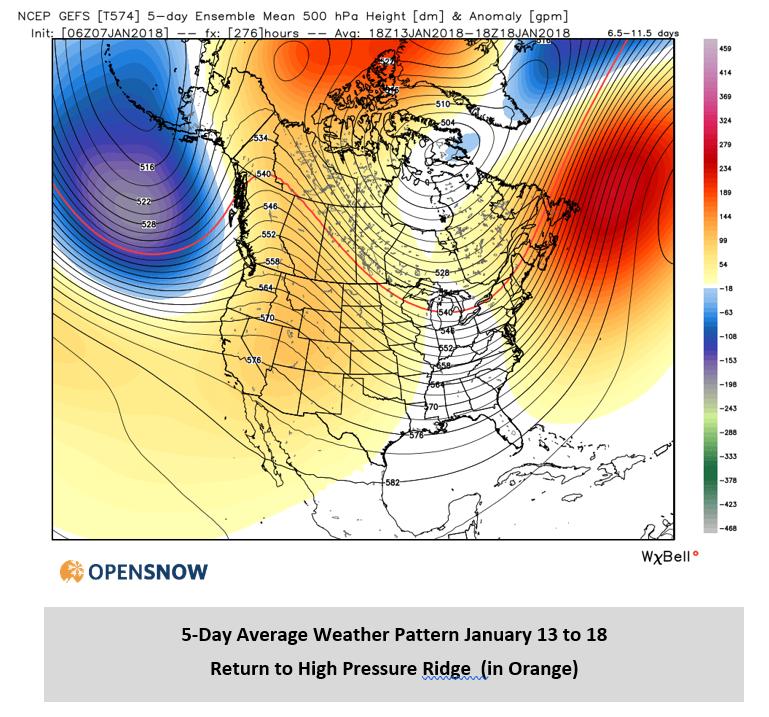 January 7, 2018 10:00 MST | Sun Valley Daily Snow | Snow