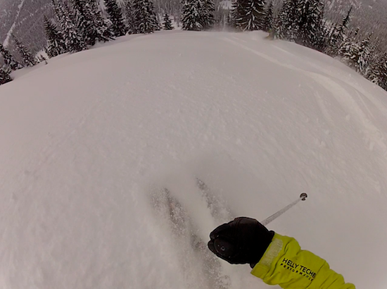Smooth, buttery snow through long tree runs. Does it get much better?