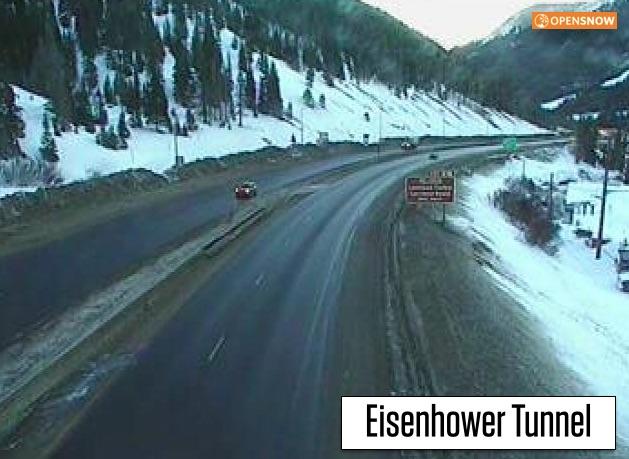 Something Webcam eisenhower tunnel