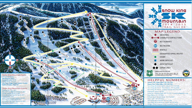 VISIT WYOMING Ski Areas Outside Of Jackson Hole OpenSnow - Jackson hole us map