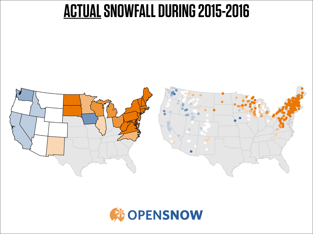 Long range weather forecasts stink – a look back at the winter snow ...