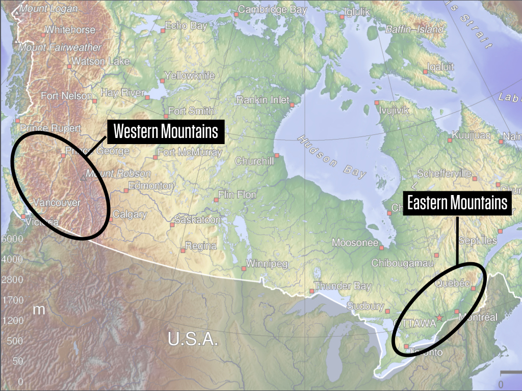 Skiing in Canada: Snow & Weather | OpenSnow on map airports in canada, map national parks in canada, map churches in canada, map mountains in canada, map golf courses in canada, map cities in canada, map british columbia,