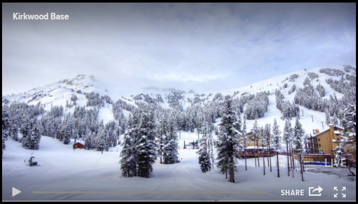 April snow tahoe daily snow report snow forecast for Kirkwood elevation