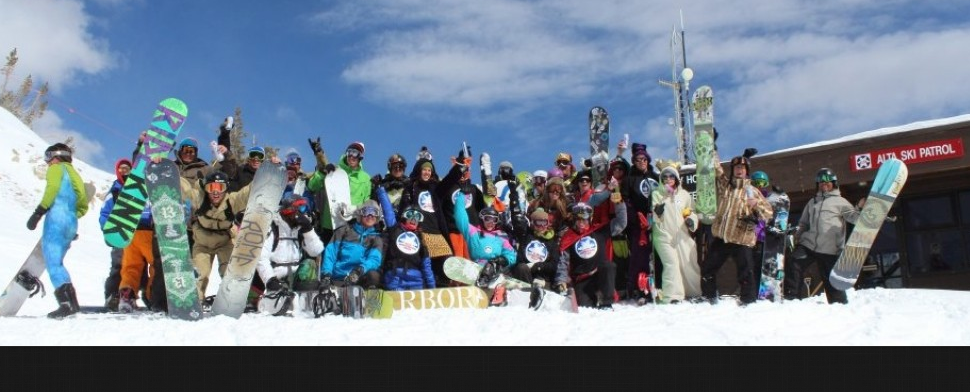 The Alta Snowboard Team