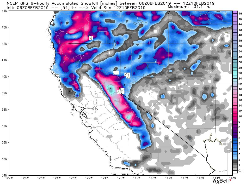 Powder Alerts Sierra Pnw Rockies Central Idaho 2 3 Feet For Ca
