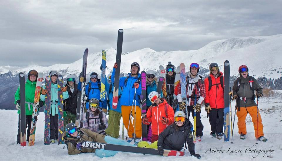 CUFST Team At Berthoud Pass