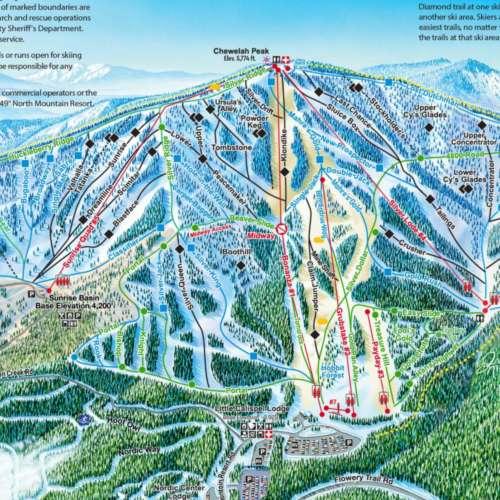 Thumbnail Image 49 Degrees North - Winter Map