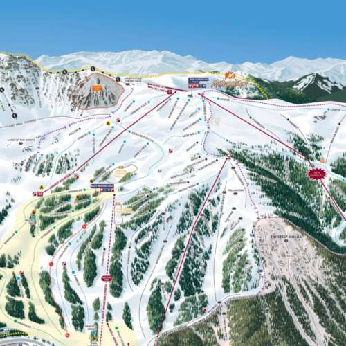 Thumbnail Image Arapahoe Basin - Winter Map