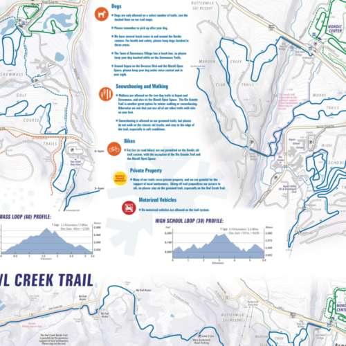Thumbnail Image Aspen Cross Country - Winter Map