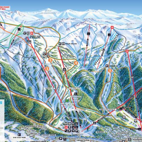 Thumbnail Image Thredbo - Winter Map