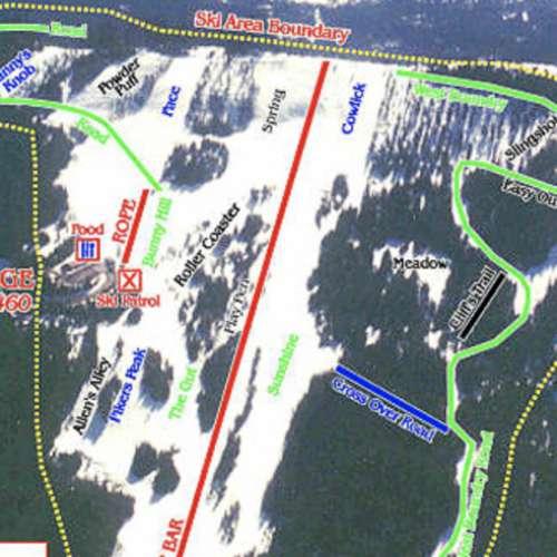 Thumbnail Image Bald Mountain - Winter Map