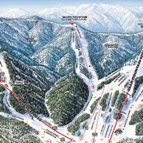 Thumbnail Image Bear Mountain - Winter Map