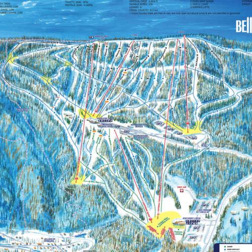 Thumbnail Image Belleayre Mountain   - Winter Map
