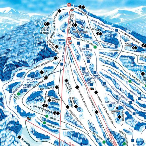 Thumbnail Image Black Mountain - Winter Map