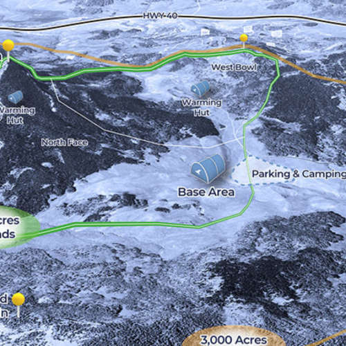 Thumbnail Image Bluebird Backcountry - Winter Map