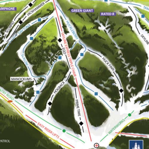 Thumbnail Image Bluewood - Winter Map