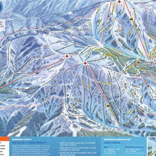 Thumbnail Image Bogus Basin - Winter Map