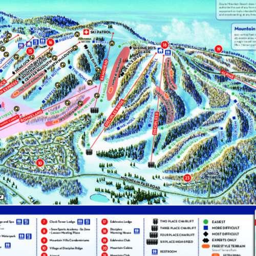 Thumbnail Image Boyne Mountain - Winter Map
