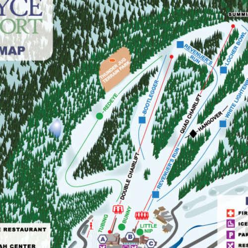 Thumbnail Image Bryce Resort - Winter Map