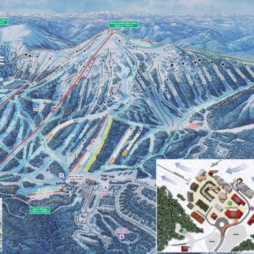 Thumbnail Image Apex Mountain Resort - Winter Map