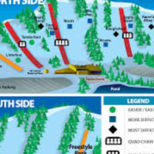 Thumbnail Image Chicopee Ski and Summer Resort - Winter Map