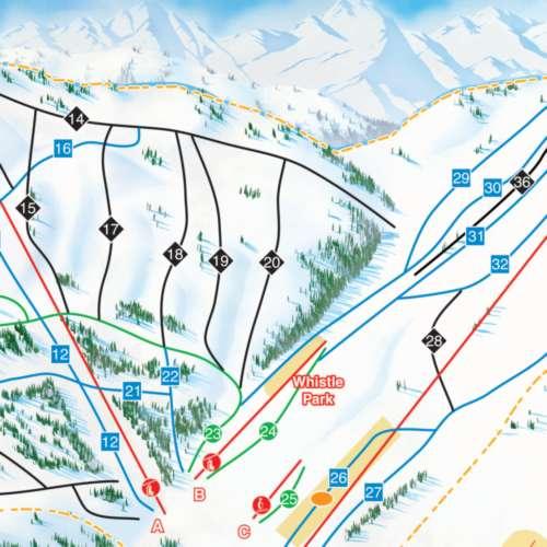 Thumbnail Image Sasquatch Mountain Resort - Winter Map