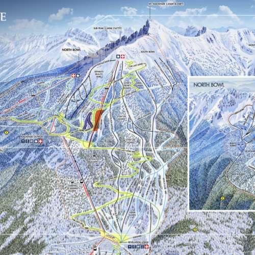 Thumbnail Image Revelstoke - Winter Map