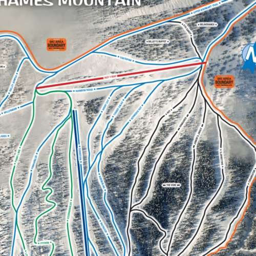 Thumbnail Image Shames Mountain - Winter Map