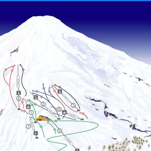 Thumbnail Image Pucon - Ski Pucon Mapa de Pistas