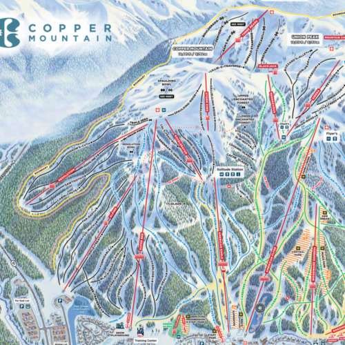 Thumbnail Image Copper Mountain - Winter Map