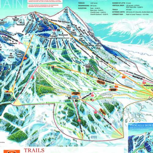 Thumbnail Image Crested Butte - Winter Map