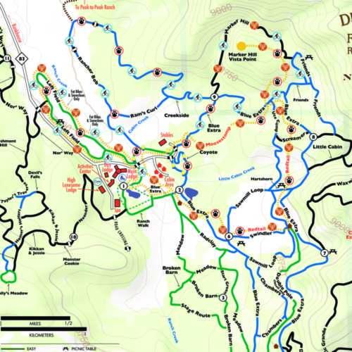 Thumbnail Image Devil's Thumb Ranch Cross Country - Winter Map