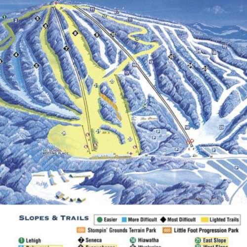 Thumbnail Image Elk Mountain - Winter Map