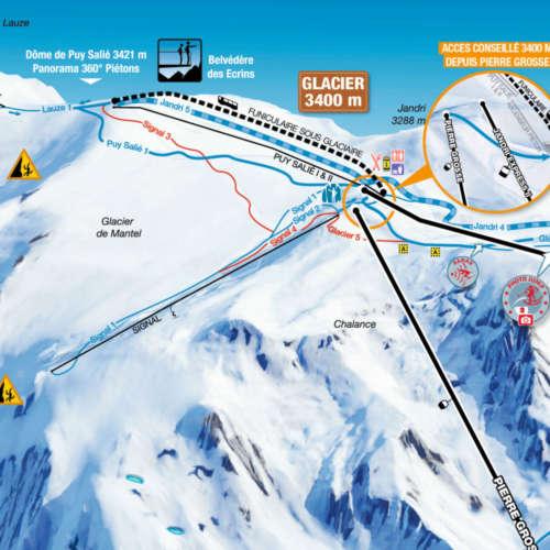 Thumbnail Image Les Deux Alpes - Glacier