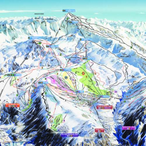 Thumbnail Image Villard-Reculas - Winter Map