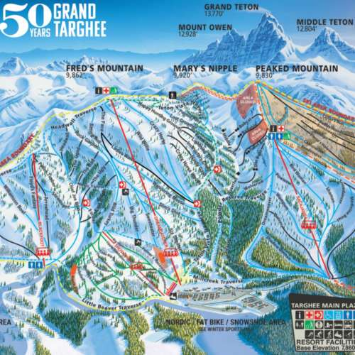 Thumbnail Image Grand Targhee - Winter Map