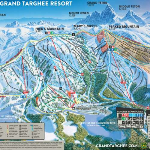 Thumbnail Image Grand Targhee - Winter Map