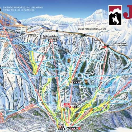 Thumbnail Image Jackson Hole - Winter Map