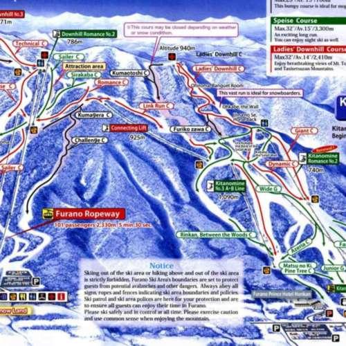 Thumbnail Image Furano - Winter Map
