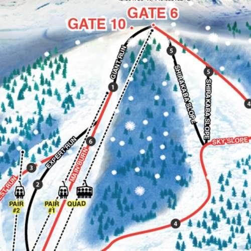 Thumbnail Image Niseko Moiwa - Winter Map